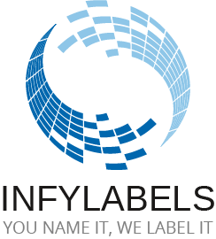 Infylabels Printed Label Manufacturers Sticker Label